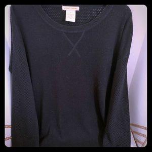 Sweet Romeo black sweater